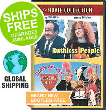 Ruthless People / Down Out In Beverly Hills (DVD, 2008) NEW, Bette Midler Devito