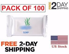 Hotel Soap Bar Guest Travel Soap In Bulk Smaller Size Motel Short Stay 100 Pack