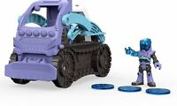 DC Super Friends Imaginext Batman Mr Freeze Snowcat Vehicle Playset