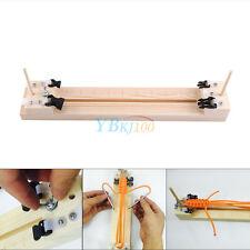 Wood Stick Round Jig Solid Paracord Bracelet Maker Knitting Craft Kit Hot DIY