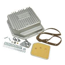 B&M 30280 Finned Brushed Cast Aluminum GM TH350 Deep Transmission Pan +3 Quarts