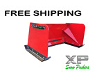 4' XP24 RED SNOWPUSHER - Toro Dingo Thomas, Ditch Witch, Vermeer - FREE SHIPPING