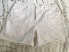 Seafolly White Denim Shorts Small 8 10