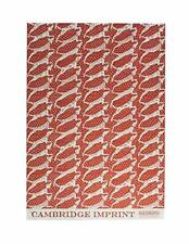 Sheet of Dogs Coral Luxury Gift Wrap Wrapping Paper Cambridge Imprint