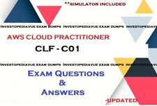 AWS Certified Cloud Practitioner Exam  CLF-C01 questions answers and Simulator