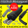 FRIEDRICH MOTORSPORT ANLAGE AUSPUFF BMW 318iS Limousine E30