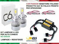 Coppia kit lampade luci LED Volkswagen Passat CC CANBUS NO ERROR H7 7600LM 6000k