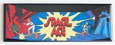 Space Ace Marquee FRIDGE MAGNET (1.5 x 4.5 inches) arcade video game header