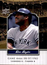 2008 Upper Deck Yankee Stadium Legacy Collection #4666 Don Baylor  (REF 19123)