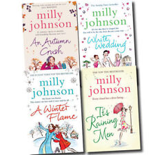 Milly Johnson 4 Books Collection Set White Wedding,Autumn Crush,Raining Men New