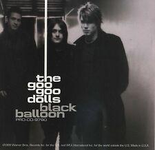 GOO GOO DOLLS Black Balloon (Radio Remix) (1999 U.S. Promo CD Single w/Inserts)