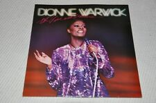 Dionne Warwick-Hot, Live & otherwise - 80s 80er-album vinile disco 2lp