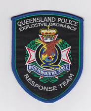 Australia - Queensland Police Explosive Ordnance Response Team Patch (social)
