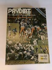 Vintage Paydirt Sports Illustrated Football Board Game 1980 Season