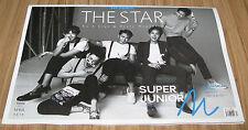 THE STAR SUPER JUNIOR M SuperJunior M KOREA MAGAZINE 2014 APR APRIL NEW