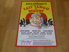 LAST TANGO in WHITBY Mike HARDING  Comedy  Theatre Royal BATH Original Poster