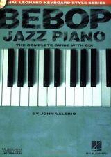 Bebop Jazz Piano (Book & CD) (Hal Leonard Keyboard Style) (Hal Leonard Keyboard