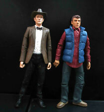 lot 2 Doctor Who the 11th Doctor Cowboy Hat Rory Williams red/blue action figure