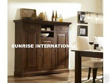 Wooden sideboard cabinet ( contemporary design )