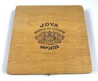 Vintage Joya Fabrica de Tobaccos, Numero 5, Wood Cigar Box, Wooden, Imported