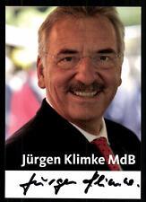Jürgen Klimke Autogrammkarte Original Signiert ## 38075