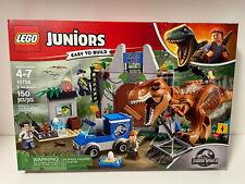 Lego Juniors Jurassic World 10758 T. rex Breakout New