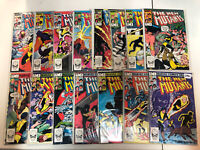New Mutants 1st series 1983 #1-25 VF Complete Starter Set Magma Cypher Hellions