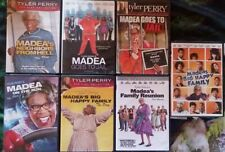 Tyler Perry: Lot of 7 DVD/Play Collection Madea
