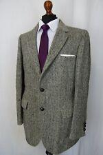 Men's Harris Tweed Giacca Blazer 40L AA844