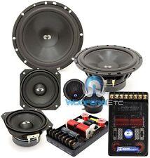 "CDT AUDIO CL-642 3-WAY 6.5"" & 4"" CLASSIC CAR AUDIO COMPONENT SPEAKERS SET NEW"