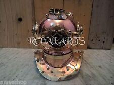 Brass Copper Diving Divers Helmet U.S Navy Mark V Vintage Maritime Gift