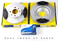 FRONT AXLE BRAKE SET DISCS AND PADS RENAULT KANGOO COMLINE ADB0485 ADC1507V