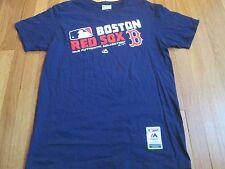NEW MAJESTIC MLB AUTHENTIC BOSTON RED SOX TRIPLE PEAK T-SHIRT SIZE L