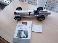 CMC 1/18 Mercedes-Benz W154.Training Car. R.Seaman. 1938. M-099.