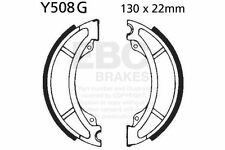 FIT YAMAHA YZ 490 K 83 EBC FRONT GROOVED BRAKE SHOES