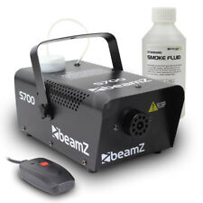 Beamz Smoke Fog Machine + Fog Fluid Party Atmospherics Effects 700W UK Stock