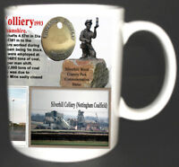 SILVERHILL COLLIERY COAL MINE MUG LIMITED EDITION GIFT MINER NOTTINGHAMSHIRE PIT