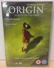 New & Sealed Origin Spirits Of The Past Movie Region 2 DVD Anime