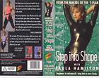 EXERCISE STEP INTO SHAPE VHS VIDEO PAL~ A RARE FIND~