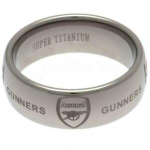Official ARSENAL FC Super Titanium Ring RING In A Gift Box