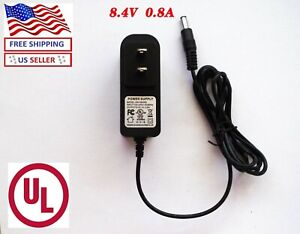 8.4 V 0.8A  power supply Adapter