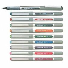 1x10 COLOUR PEN UNI-BALL EYE UB-157 ROLLER BALL PEN WITH LOWEST SHIPPING CHARGES