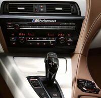 Für BMW  M Performance Aluminium Emblem Aufkleber Sticker LOGO Selbstklebend