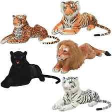 vidaXL Animal de Peluche Grande Tigre/Pantera Diferentes Tamaños y Colores