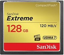 SanDisk 32GB 64GB 128G CF Extreme 120MB/s Compact Flash Memory Card SDCFXSB