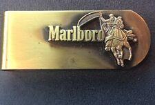 Vintage Marlboro Money Clip with Marlboro Man On Horse