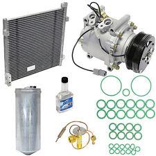 new ac compressor and condenser install kit 1996-1999 honda civic trs090 pump