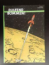 Revue Duizend Bommen N°5 2000 700 ex ETAT NEUF   No Amis de Hergé Tintin Kuifje