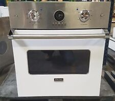 "Viking VESO5272WH 27"" Single Electric Wall Oven  White / Stainless Steel"