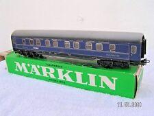 MÄRKLIN HO 1/87 3 rails  -  VOITURE LITS INTERNATIONALE ref 4029